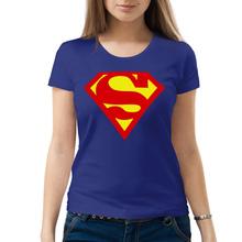 Женская футболка «Superman»