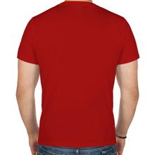 Мужская футболка «Supreme» красная